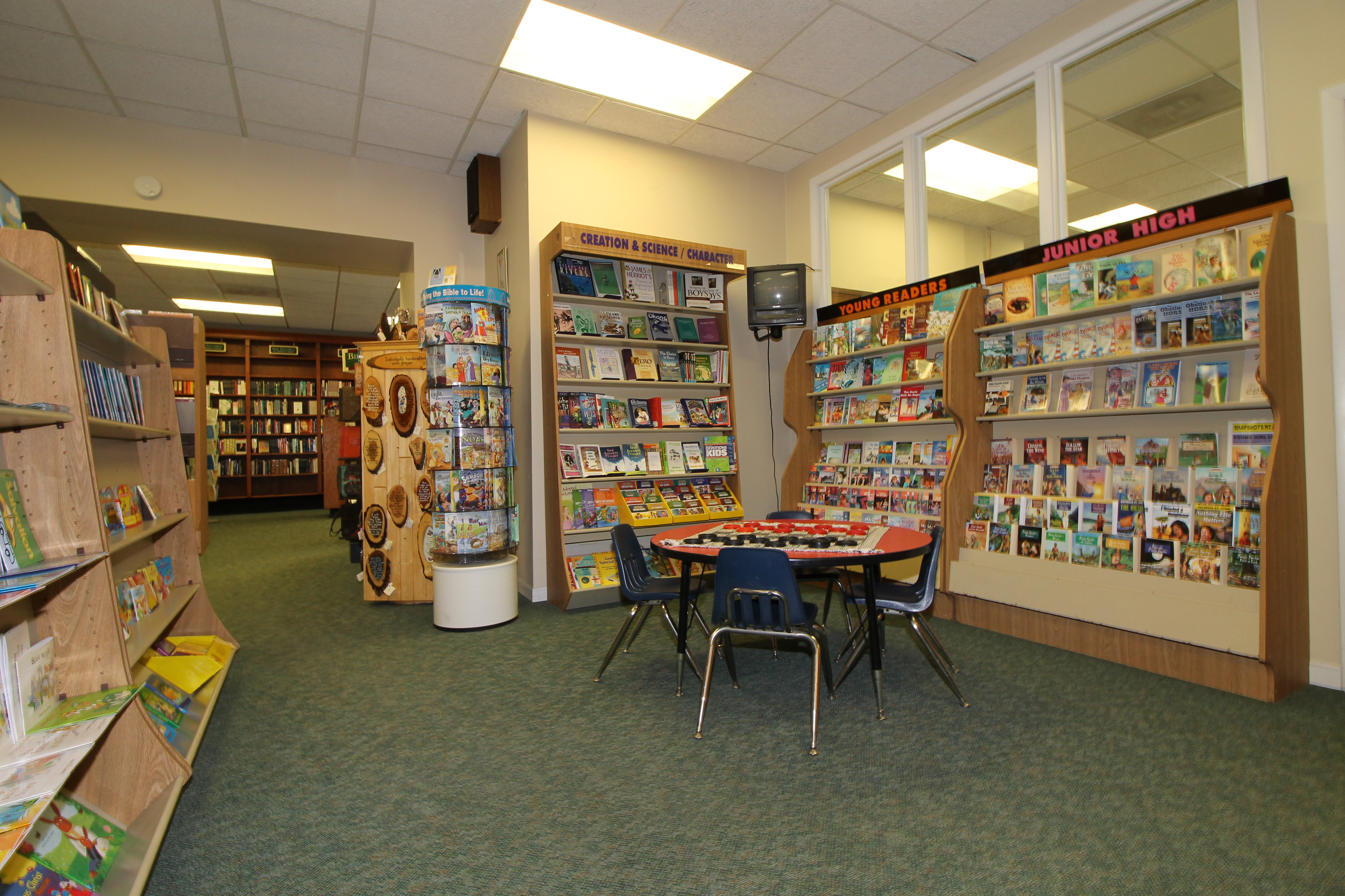 bibles and a variety of christian books for children of all ages